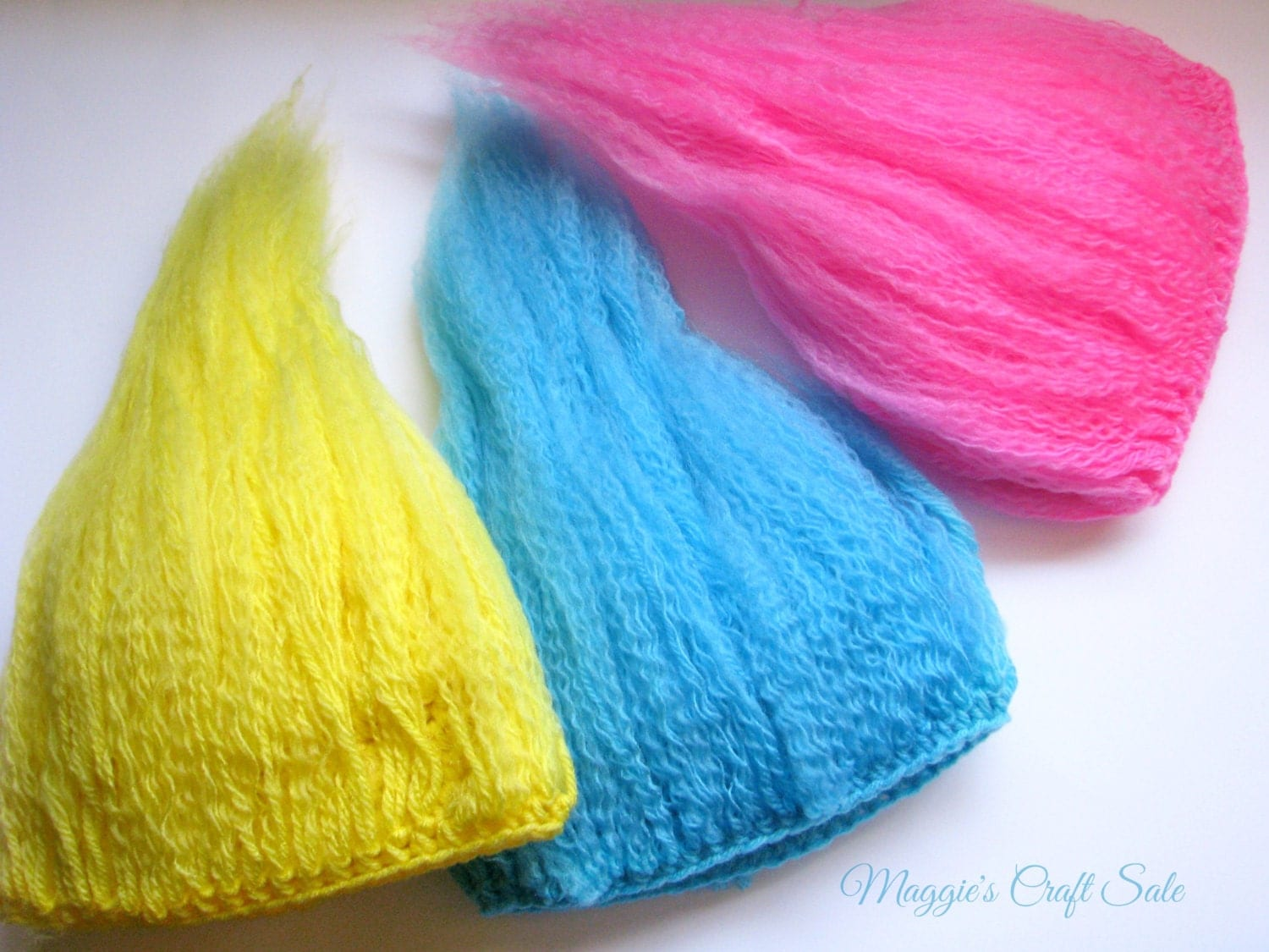 Crochet Pattern For Troll Hat : Crochet Troll Wig Hair Hat prop Photo prop mythical