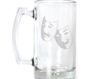 Large Beer Mug - 25 oz. - 2202 Theater Mask