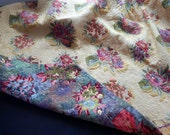 RESERVED FOR DAWN Vintage French Coverlet /   French Matelasse Bedcover +Shipping Included