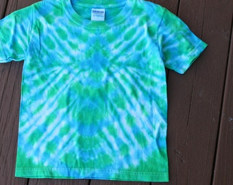 Tie Dye Diamond Tee Youth size XS