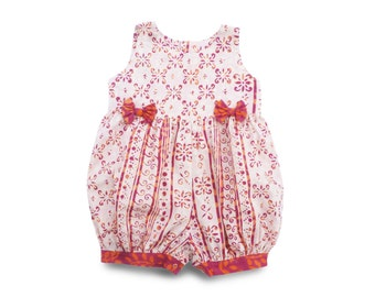 Toddler Romper 24m, Floral Bubble Romper, Toddler Birthday Gift, 24m Floral Jumpsuit, Floral Romper Gift