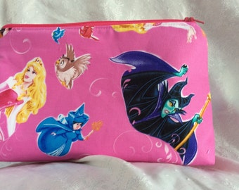 Sleeping Beauty Cosmetic Makeup Bag