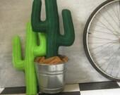 plush saguaro cactus pillow