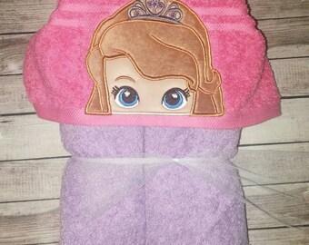 Custom Sofia Hooded Towel