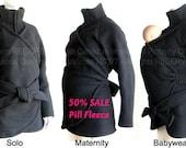 Sale 50 Percent OFF. Maternity. Maternity Jacket. Maternity Coat.  Babywearing Coat. Baby Clothes. Baby Wearing Jacket.