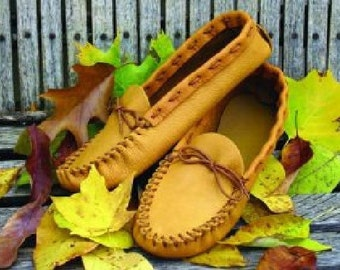 Size 8 Men's Moccasin Pattern-Casual Daily Wear