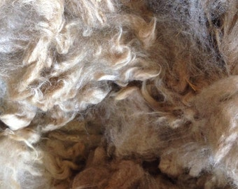 Beige Bond 6 oz Fleece Raw Wool Colorado Fleece