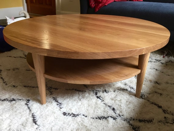 Round Coffee Table Oxelaand White Oak