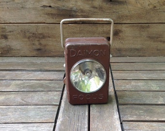 Vintage Daimon Focus German Flashlight