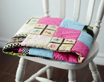 Handmade Shop-a-holic Quilt