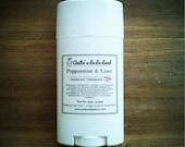 Peppermint & Lime Natural Deodorant - Deodorizing Essential Oil Blend, Extra Strength, Aluminum Free