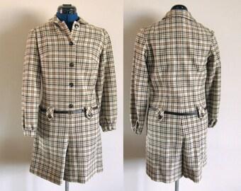 Jack Winter Wool Pant Dress, Size 8