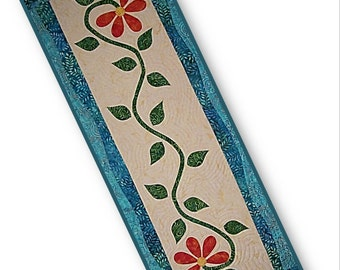 Bloomers Table Runner / Wall Hanging Quilt Pattern