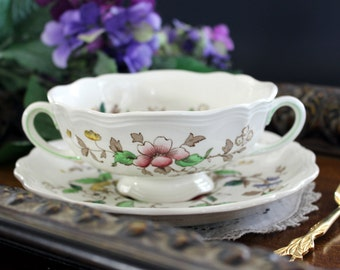Royal Doulton, Monmouth Bullion Cup and Saucer - England 13364