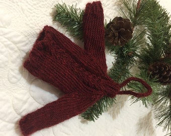 Miniature Cable Knit Sweater Ornament Quiltsy Handmade