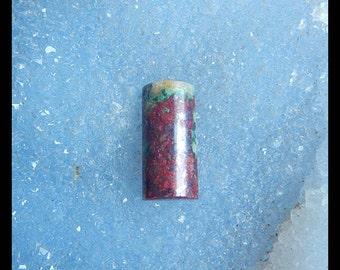 Chrysocolla Gemstone Cabochon,22x10x6mm,3.8g