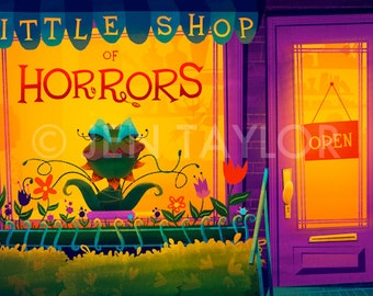 Little Shop of Horrors Print