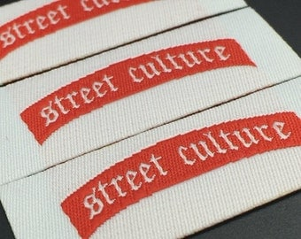600 sew in labels custom, custom sewn in labels, sewn labels