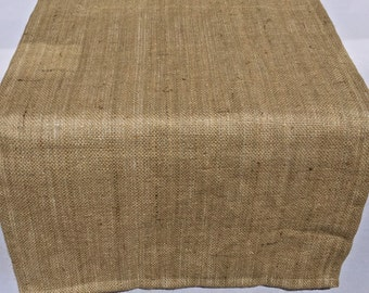 Burlap Table Runner, Extra Wide Runner, Wedding, Shower, Party, Home Decor, Custom Sizes Available