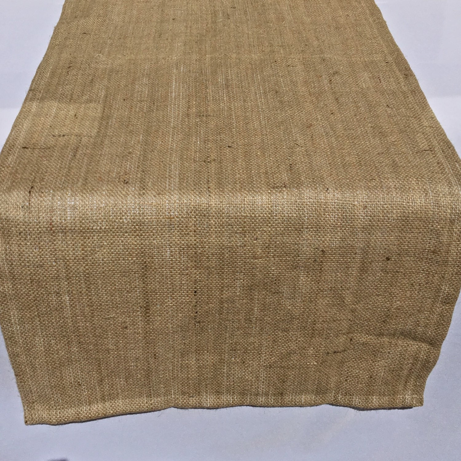 Burlap Table Runner Extra Wide Runner Wedding Shower