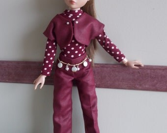 "OOAK doll clothes for Ellowyne Wilde - ""How About Those Spots?"""
