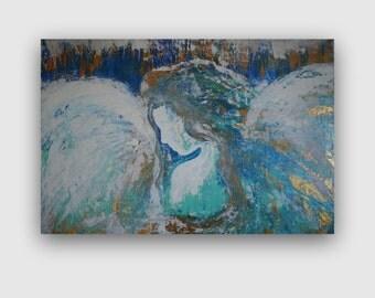 Angel ~ Original Painting by Alma Yamazaki - 36 x 24