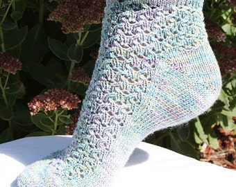 PDF PATTERN ONLY - Poppy Socks