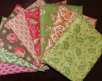 Honeysweet Fat Quarter Bundle of 9 by Joanna Figueroa for Moda 3 LEFT