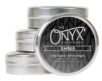 Solid Cologne - Ember 1oz. - Sweet and Smoky Notes
