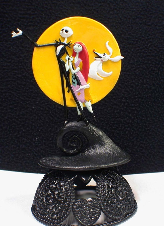 jack sally nightmare before christmas wedding cake topper nightmare before wedding cake topper sally 16562