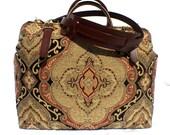 Carpet Bag, Weekender / Overnight / Carry on / Countess Carpet Travel Bag