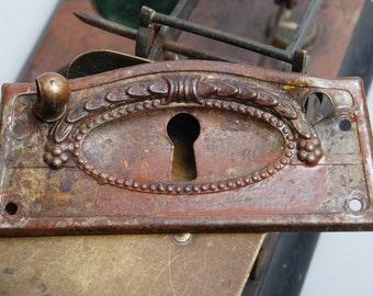 Vintage Elegant Victorian style key hole escutcheon