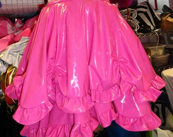 Victorian PVC skirt S/M from Artifice Clothing (photoshoot sample)