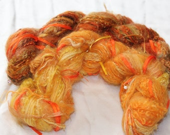 Art Yarn with mohair by Adele of South Africa