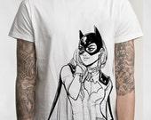 Batgirl T-shirt (LADIES Black!)