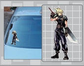CLOUD STRIFE from Final Fantasy Vinyl Decal No. 2 Dissidia Sticker