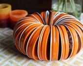 DIY Pumpkin Jar Lid Kit with Twine, Fall Wedding Decor