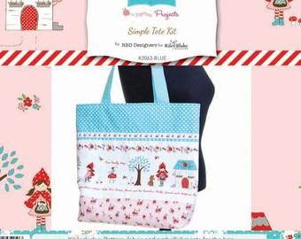 Riley Blake Little Red Riding Hood Tote Bag Kit