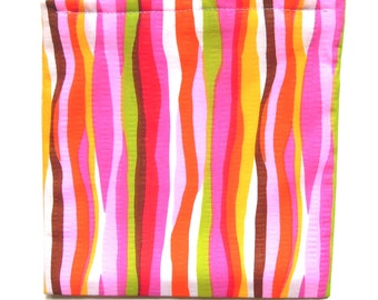 Reusable Sandwich or Snack Bag: Stripes