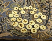 Elm rune set - small - Elder Futhark - FREE DOMESTIC SHIPPING