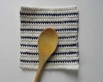 100% cotton pot holder