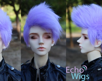 Single Color Short Shave Custom BJD WIG 8/9, 7/8, 6/7, 5/6, 3/4