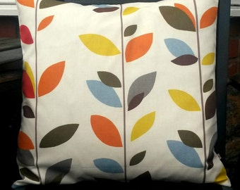Fall pillow cover - Leaf pillow cover - leaves pillow cover - autumn cushion cover - leaf cushion cover