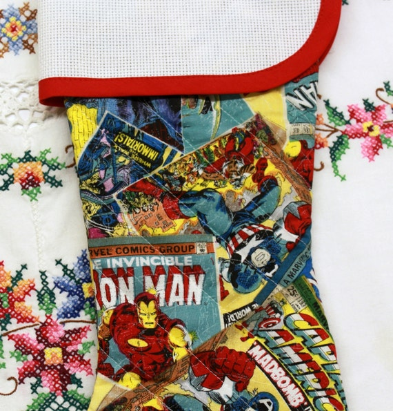 Marvel Super Hero Stitchable Quilted Cross Stitch