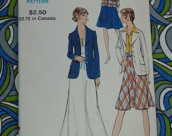 Vintage Pattern,Vogue No.9262 Jacket and Skirts, Size 10, Uncut