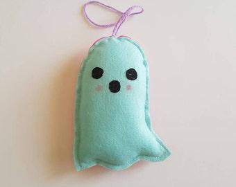 Felt Double Sided Ghost Plush Toys/Decor - Halloween!