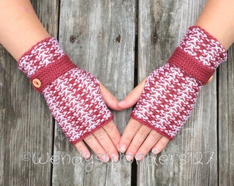 Fingerless Gloves, Button gloves, Knit Fingerless Gloves with button, Knit Fingerless gloves, Wrist Warmers, Hand Warmers, Texting Gloves
