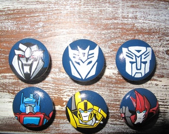 Customized Transformers dresser knobs