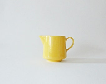 Vintage USA Yellow Creamer