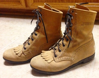 Women's Leather Justin Boots